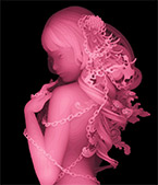 Artwork by Kazuki Takamatsu on exhibition at Corey Helford Gallery in Los Angeles, Jan 12 - February 16, 2019, 010919