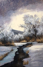 Artwork by Simon Winegar on exhibition at Ann Korologos Gallery, Basalt, Colorado, January 17 - March 16, 2019, 011019