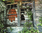 Photographs by William Christenberry on exhibition at High Museum of Art Nov 28 - April 14, 2019