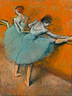Artwork by Edgar Degas on exhibition at High Museum of Art through hrough July 14, 2019