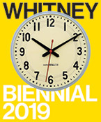 Graphic for the Whitney Biennial 2019 at the Whitney Museum of American Art in New York, May 17 - September 22, 2019, 051419
