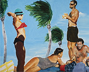 Artwork by Eric Fischl at Spruth Magers in Los Angeles, June 19 - August 30, 2019, 061319