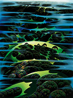 Artwork by Eyvind Earle available from Gallery 21 in Carmel, CA, 060919