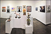 Interior view of Archway Gallery in Houston, 11th Annual Juried Art Exhibition, July 6 - August 1, 2019, 070819