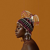 Photograph by Kwame Brathwaite on exhibition at Skirball Cultural Center in Los Angeles, CA, April 11 - September 1, 2019, 070619