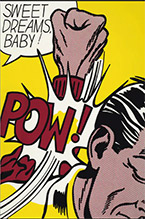 Artwork by Roy Lichtenstein on exhibition at Detroit Institute of Arts in Detroit, MI, Feb 17 - August 25, 2019, 070719