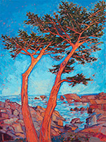 Painting by Erin Hanson available from The Erin Hanson Gallery in Carmel, CA, May 2020, 050420