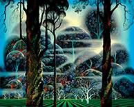 Artwork by Eyvind Earle available from Art-Collecting.com, 010421