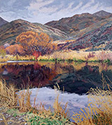 Artwork by Sheila Gardneron exhibition at Gail Severn Gallery, Ketchum, ID, May and June 2020, 052920