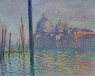 Artwork by Claude Monet on exhibition at Museum of Fine Art in Boston, MA, April 18 - August 23, 2020, 070220