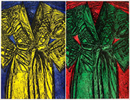 Artwork by Jim Dine available from Leslie Sacks Gallery in Santa Monica, CA, September 2020, 092920