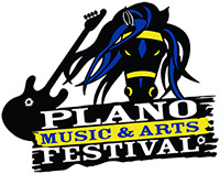 logo of Plano Music and Arts Festival, October 10-11, 2020