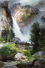 Artwork by Thomas Moran at Jackson Hole Art Auction in Jackson, WY, September 19, 2020, 073119