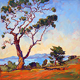 Painting by Erin Hanson available from The Erin Hanson Gallery in Carmel, CA, December 2020, 121120