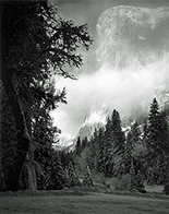 Photograph by Ansel Adams available from Catherine Couturier Gallery in Houston, January 2021, 120720