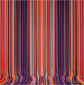 Artwork by Ian Davenport on exhibition at Kasmin Gallery in New York, Nov 20 - January 9, 2021, 110720