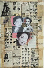 Artwork by Krista Franklin on exhibition at Museum of Contemporary Photography in Chicago, Illinois, Oct 1 - December 23, 2020, 120820