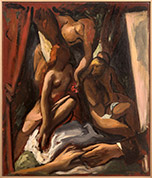 Artwork by Lorser Feitelson on exhibition at Louis Stern Fine Arts in Los Angeles, January 2021, 101820