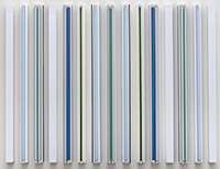 Artwork by Robert Irwin on exhibition at Kayne Griffin Corcoran in Los Angeles, CA, Jan 9 - February 27, 2021, 122020