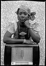 Photograph by Seydou Keita on exhibition at Peter Fetterman Gallery in Santa Monica, CA, Nov 12 - January 8, 2021, 111120