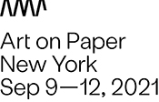 Art on Paper, New York 2021 logo