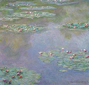 Painting by Claude Monet on exhibition at Museum of Fine Art in Boston, MA, Nov 15 - February 28, 2021, 011921