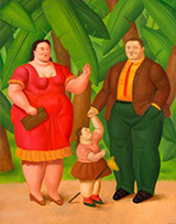 Artwork by Fernando Botero available from Gary Nader Art Centre in Miami, 010321