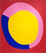 Painting by Jules Olitski on exhibition at Yares Art in New York, Nov 7 - January 30, 2021, 122920