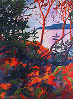 Painting by Linda Yurgensen, title Breaking Dawn available from Zatista.com, 030421