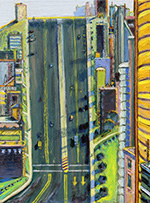 Artwork by Wayne Thiebaud on exhibition at Acquavella in Palm Beach, Florida, Dec 20 - February 20, 2021, 122820