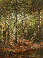 Artwork by William Louis Sonntag, Forest Interior available from Questroyal Fine Art in New York, 021821