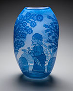 Glass by Cappy Thompson on exhibition at Museum of Glass in Tacoma, WA, opening April 2, 2021, 040121