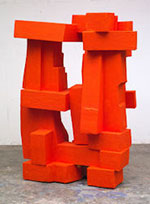Sculpture by Charles Arnoldi on exhibition at Charlotte Jackson Fine Art in Santa Fe, April 7 - May 8, 2021, 041221