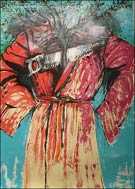 Artwork by Jim Dine, Atheism, 1986, Lithograph with Hand coloring available from Vertu Fine Art in Boca Raton, FL