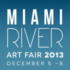 Miami River Art Fair logo, December 2013