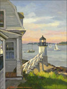 Artwork by Donald Mosher available from Bay View Gallery in Camden, Maine