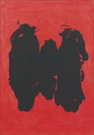 Artwork by Robert Motherwell available from Leslie Sacks Contemporary in Santa Monica, CA