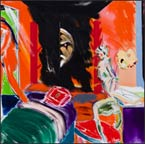 Artwork by R.B. Kitaj available from LA Louver in Venice, CA