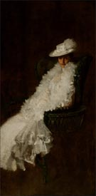 Artwork by William Merritt Chase on view at the Parish Art Museum in Water Mill, NY, through October 26, 2014