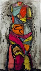 Artwork by Jim Dine, The Venus Dances, 2005, signed edition of 12, available from Leslie Sacks Fine Art in Los Angeles